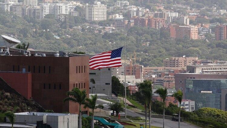 La embajada de EE.UU. en Caracas cerró en marzo de este año.
