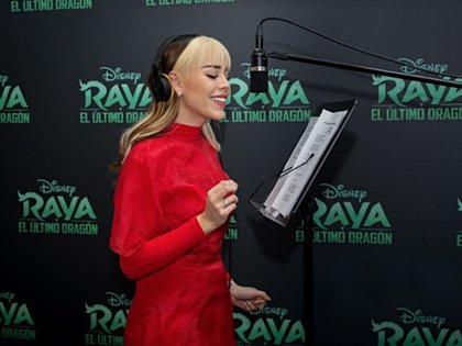 La cantante volvió a trabajar para Disney (Foto: EUROPA ESPAÑA SOCIEDAD CEDIDA POR DISNEY)