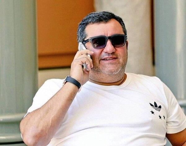 Mino Raiola, el representante de futbolistas que se habría puesto en contacto con Icardi. (Foto Instagram)