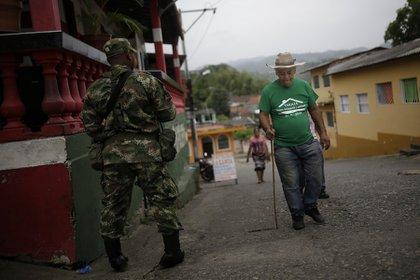 Imagen de archivo. A corte de 26 de enero, se documentaron 14 homicidios en Tarazá, municipio del Bajo Cauca antioqueño. (Colprensa-Sergio Acero)