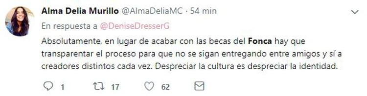 Debate en redes por las declaraciones de Jesusa Rodríguez (Foto: Twitter)
