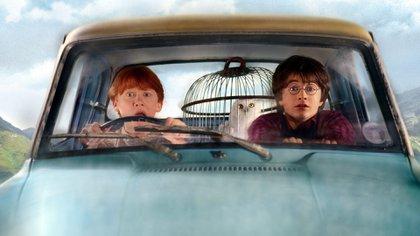 Hedwig, era el gran compañero de Harry durante las escenas