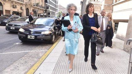 La jueza Liliana Catucci (Adrián Escandar)