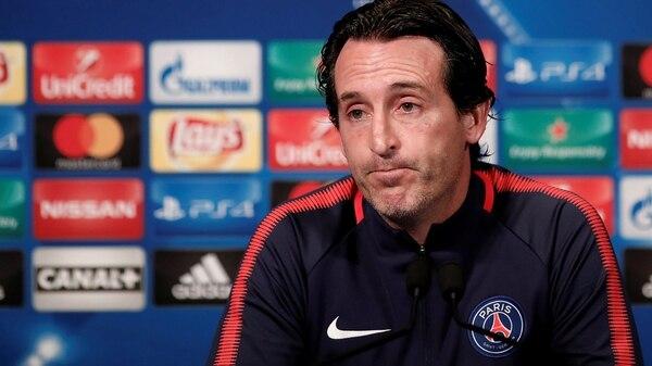 Unai Emery podría dejar el cargo de entrenador en el PSG (Reuters)