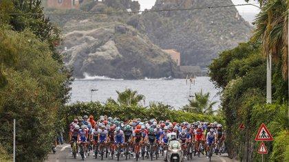 La etapa celebrada este martes fue de 140 kilómetros (AFP)