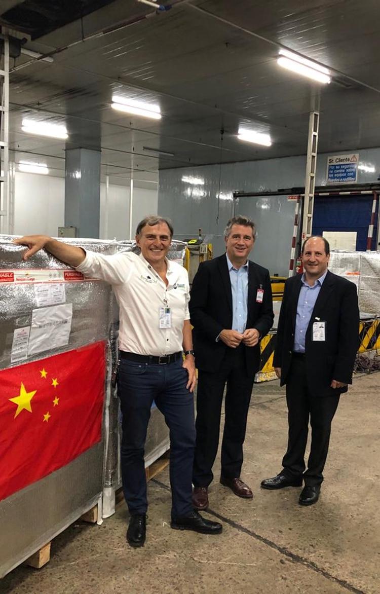 Exportación de arándanos a China