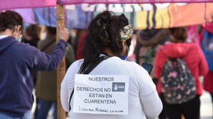 Los derechos de las mujeres no se caen en cuarentena a cinco años de la marcha de Ni Una Menos (Franco Fafasuli)