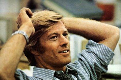 """En """"Todos los hombres del presidente"""". El afiche de la película aparece en un lugar destacado en Borgen, la serie éxito del momento (Shutterstock) All The President's Men - 1976"""
