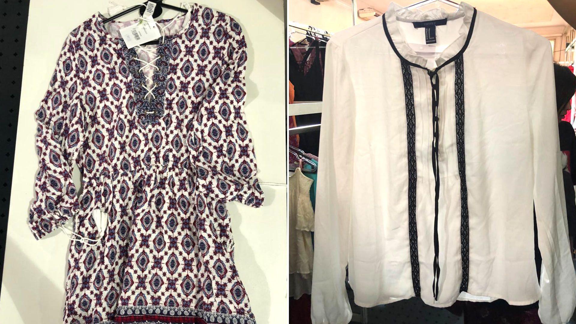 Los vestidos $2499; y blusas por $2199. Así son los precios de Forever 21 en Argentina
