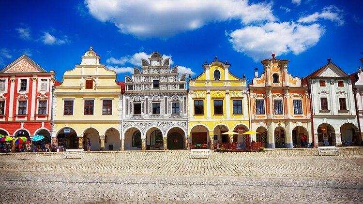 El centro histórico de Telč es un sitio del patrimonio mundial de la UNESCO (Shutterstock)