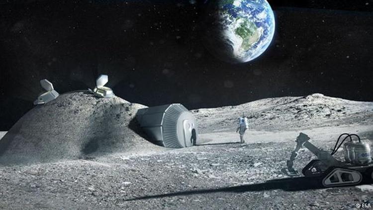 Muchos científicos sueñan con el establecimiento de colonias espaciales en la Luna