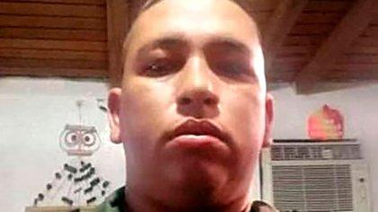 SM3ra Gabriel Alexander Pérez Silva, plaza del Fuerte Yaruro, asesinado por las FARC el 19 de septiembre de 2020