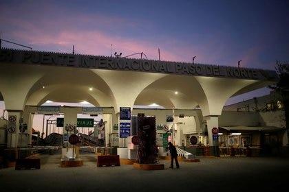 Foto del lunes del Puente Internacional Paso del Norte en Ciudad Juárez.  Mar 30, 2020. REUTERS/Jose Luis Gonzalez