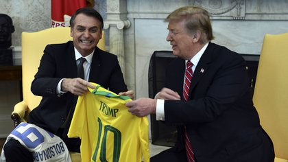 Bolsonaroha estrechado los lazos entre Brasil y EEUU(AFP)