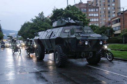 7KJND4SHCRD3FF75E6VETWZEJM - Así avanzó el quinto día de manifestaciones en Colombia