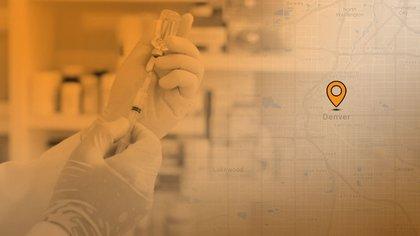Denver inició con la primera fase de vacunación contra el Covid-19 (Gráfico: Infobae)