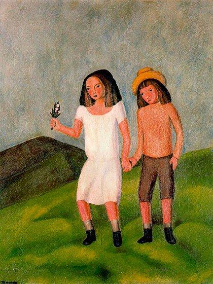 """Niños"", de Rufino Tamayo"