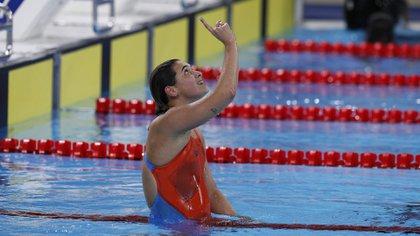 Delfina tuvo una verdadera batalla ante la chilena Kobrich(Foto: AP)