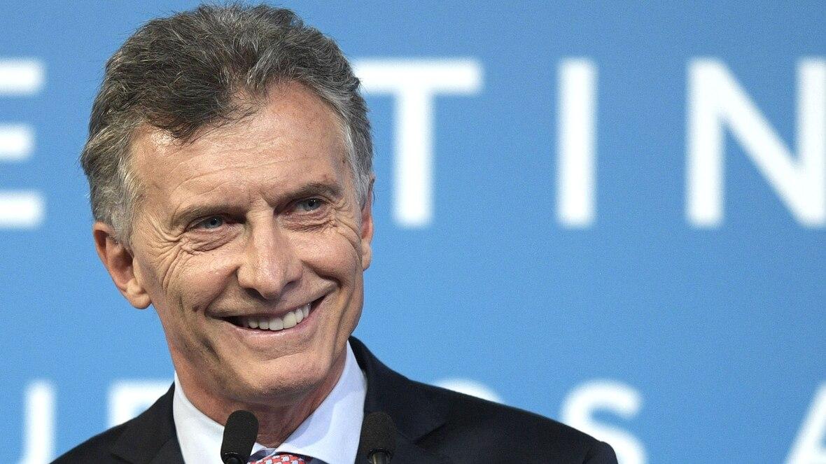 Mauricio Macri, sonriente, en la conferencia de prensa final de la Cumbre del G20 en Argentina(AFP)