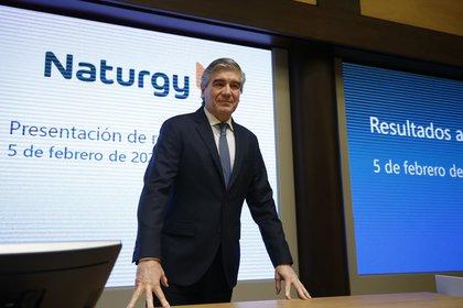El presidente ejecutivo de Naturgy, Francisco Reynés. EFE/Javier Lizón/Archivo
