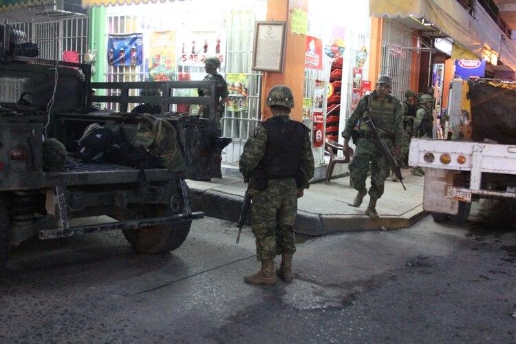 Inmediaciones del Palacio de Justicia de Iguala, Guerrero (Foto: Cuartoscuro)