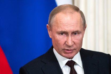 Vladimir Putin, presidente ruso. (REUTERS)
