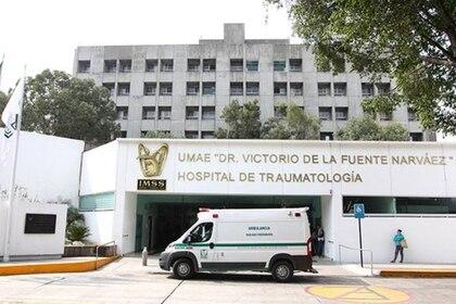 Una semana después, Leonardo fue llevado al Hospital de Traumatología Victorio de la Fuente   (Foto: imss.gob.mx)