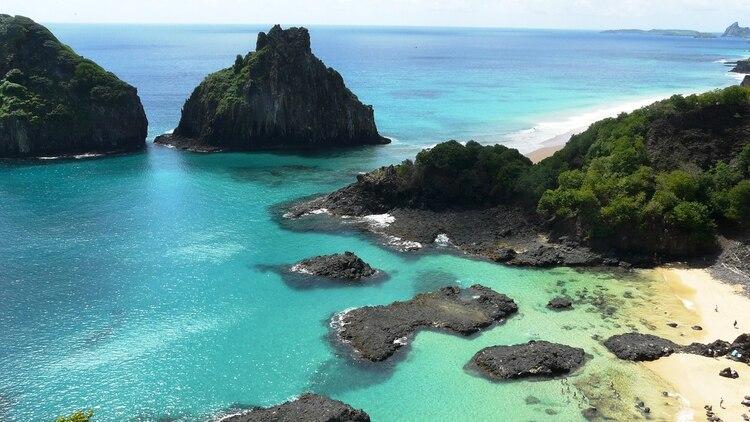 Las playas tienen un límite de visitantes diarios de 400 personas, que permite su preservación ambiental y la protección de su vida marina