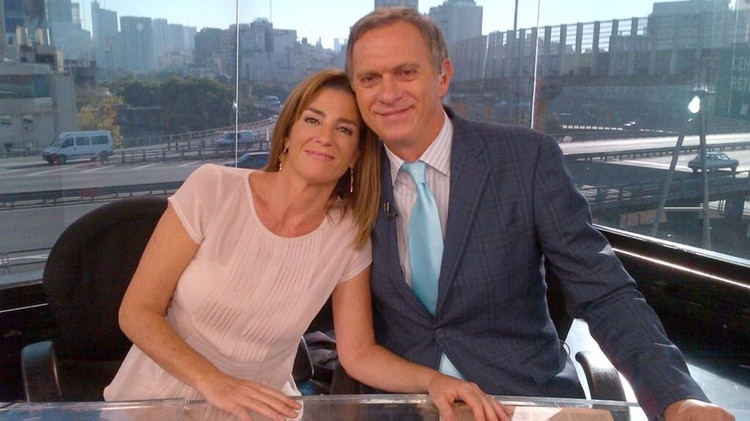 Débora Pérez Volpin y Marcelo Bonelli (Foto: @BonelliOK)