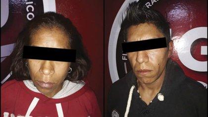 Yadira padecía problemas de drogadicción y tenía antecedentes por robo, mientras Pablo Rodríguez presumía en su redes sociales armas de fuego y también había abusado sexualmente de otra de las hijas de su pareja Foto: Fiscalía Edomex