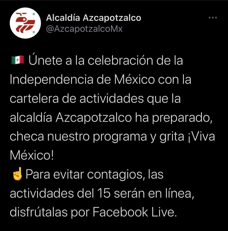 Tuit Alcandía Azcapo 13-09-21