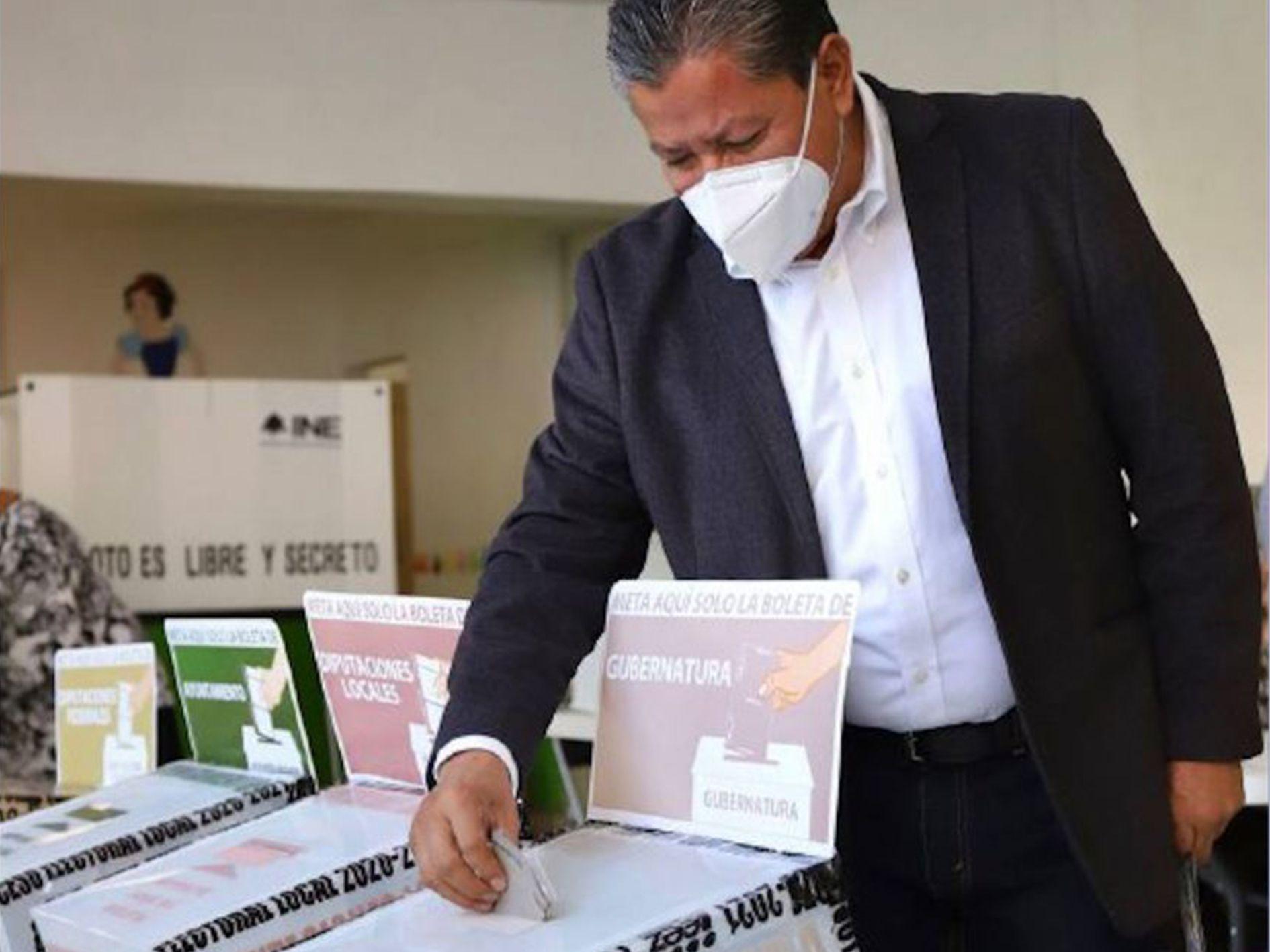 DAVID MONREAL - SECRETARÍA - GOBIERNO DE MÉXICO - VOTO - ELECCIONES - MÉXICO