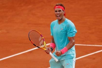 Rafael Nadal jugó a su mejor nivel ante el argentino Diego Schwartzman y jugará su decimotercera final de Roland Garros (REUTERS)