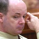 FILE- In this Oct. 18, 2004, file photo, Anthony Shore appears in court at the Harris County Criminal Justice Center in Houston. Shore was scheduled to be given a lethal injection Wednesday, Oct. 18, 2017, but the judge withdrew the execution warrant at prosecutors' request just hours before Shore was set to die. His death was rescheduled for Jan. 18. The four killings that led to Shore getting the death penalty occurred from 1986 to 1995. (Steve Ueckert/Houston Chronicle via AP, File)