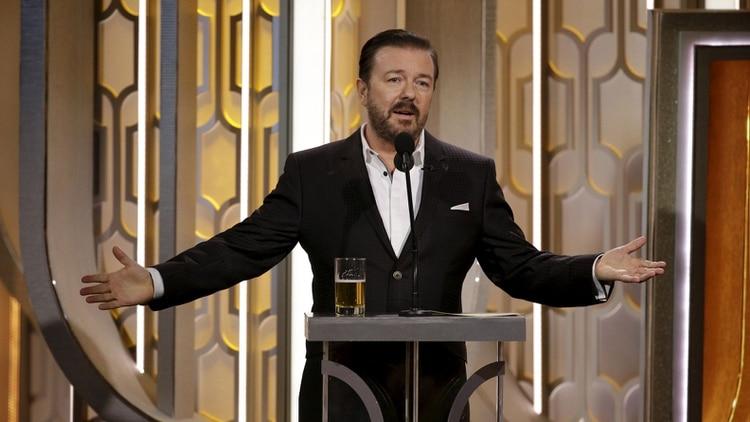 Ricky Gervais regresa como anfitrión de los Globos de Oro por quinta vez