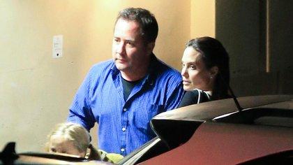 Angelina Jolie se reencontró con su padre, Jon Voight, en Los Ángeles