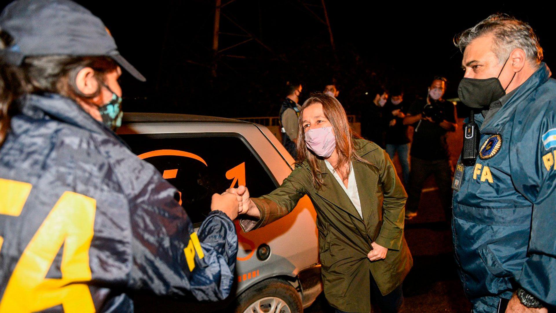 Controles de las fuerzas de seguridad AMBA sabina frederic
