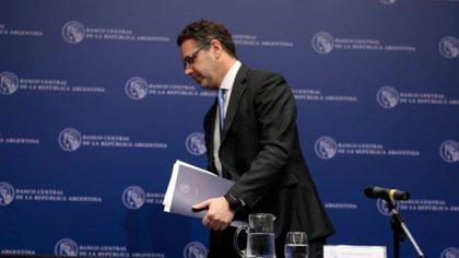 Guido Sandleris, presidente del Banco Central (Foto: Luciano González)