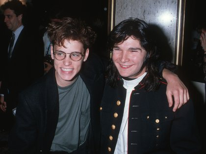 Corey Feldman y Corey Haim eran los niños actores más importantes de la industria en los años 80 (Photo by Ron Galella, Ltd./WireImage)