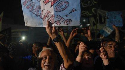 La manifestación de la semana pasada en Plaza Congreso