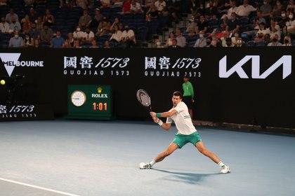 Djokovic quiere ganar por novena vez el Australian Open (Foto: Reuters)