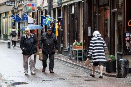 Suecia hace frente a la segunda oleada de coronavirus (Amir Nabizadeh/TT News Agency via REUTERS)