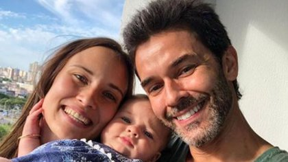 Mariano Martínez, Camila Cavallo y Alma