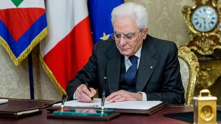Sergio Mattarella (AFP)