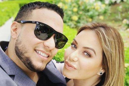 """""""Chiquis"""" Rivera y Lorenzo Méndez se casaron el 29 de junio de 2019 (IG: lorenzomendez7)"""