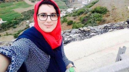 La periodista marroquí Hajar Raissouni (Facebook)