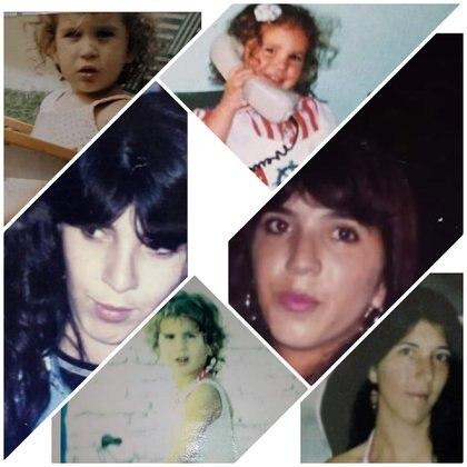 Imágenes de Marina Fernanda y Marina Beatriz, de joven