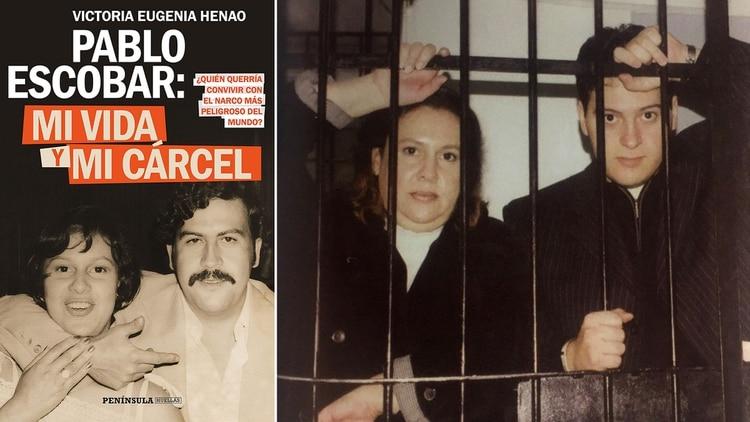 El libro que la viuda del capo del Cartel de Medellín publicó recientemente. Allíconfiesa que fue violada por él e inducida a un aborto. En la foto con su hijo Juan Pablo. (Victoria Eugenia Henao – Editorial Planeta)
