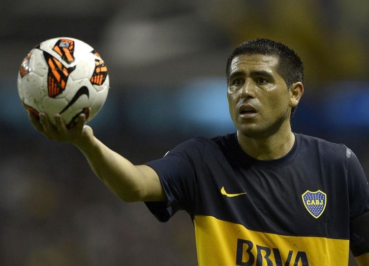 """""""Cuando miro la tele siento que no fui futbolista"""", dijo (Foto: AFP / Juan Mabromata)"""