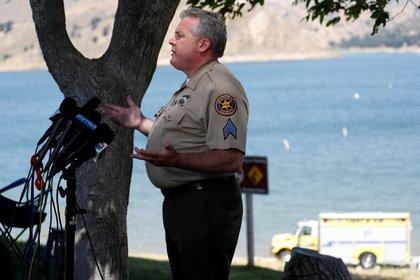 El sargento Kevin Donoghue estuvo a cargo de la búsqueda del cuerpo de la actriz Naya Rivera ( REUTERS/Mario Anzuoni)
